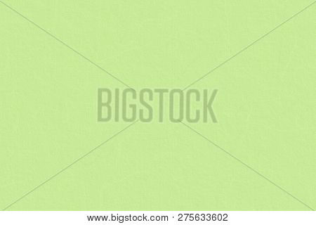 Background Of Light Green Cardboard Sheet Texture