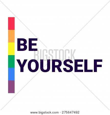 Lgbt Pride Flag Or Rainbow Pride Flag Include Of Lesbian, Gay, Bisexual, And Transgender Flag Of Lgb