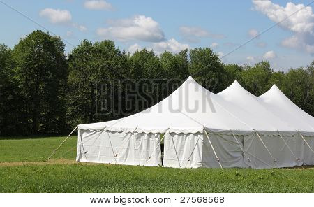 events or wedding tent