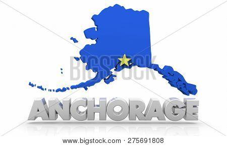 Anchorage AK Alaska Image & Photo (Free Trial)   Bigstock