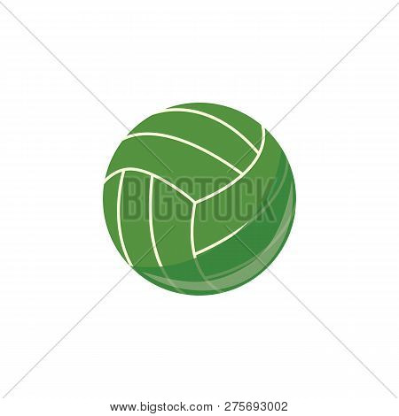 Vector Volley Ball, Sport Equipment Simple Icon