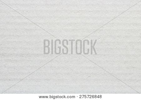 White Cover Cardboard Texture Background, Horizontal Stripes