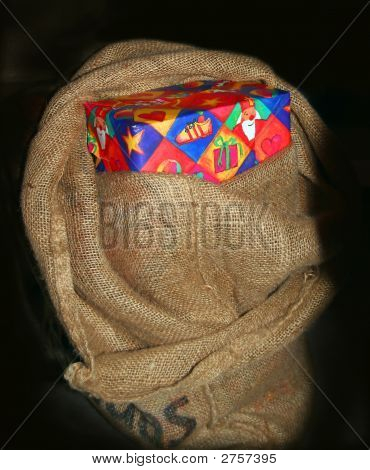 Dutch Sinteklaas Bag With Presents
