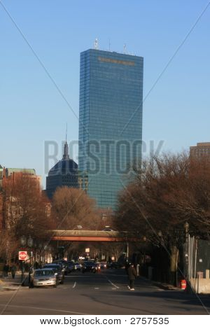 Boston Picture With Hancock Building