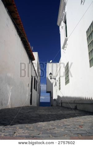 Alley Towards The Ocean