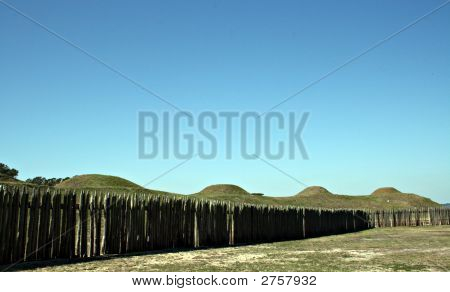 Battleground Mounds At Fort Fisher