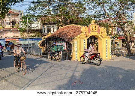 Nam Dinh, Vietnam - Nov 26, 2018 :