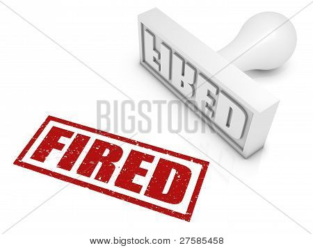 Fired Rubber Stamp