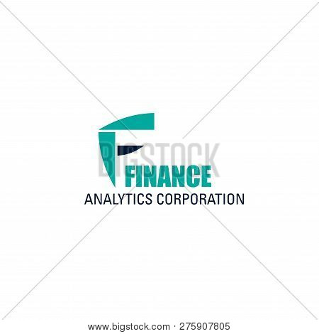 Finance Analytics Corporation Vector Icon Isolated On A White Background. Concept Of Income Increase