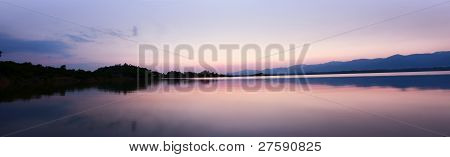 Panorama of Rawal Dam Islamabad Pakistan , Dam poster