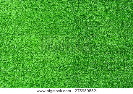 Beautiful Green Artificial Grass Texture For Background