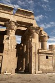 Ruins of the Temple of Kom Ombo Egypt poster