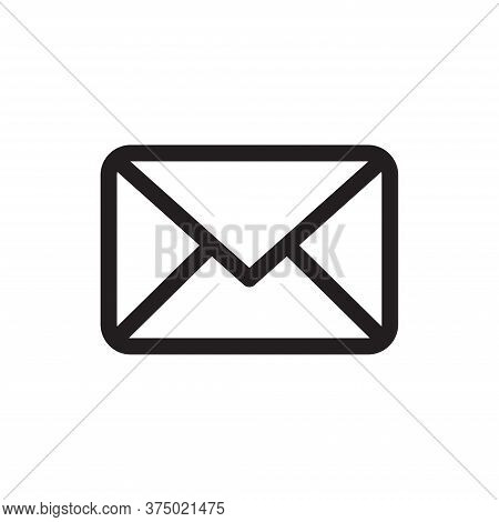 Mail Icon Isolated On White Background. Mail Icon In Trendy Design Style For Web Site And Mobile App