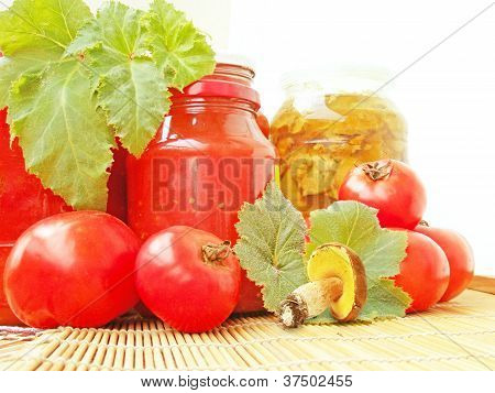 Tomatoes And Vessels