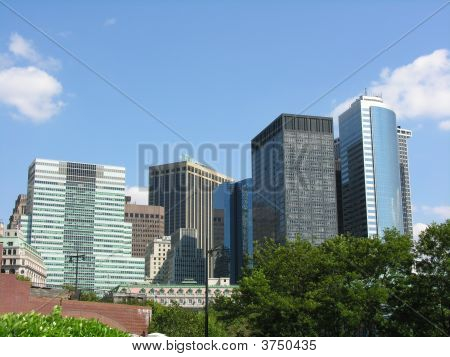 Buildings In Downtown New York City