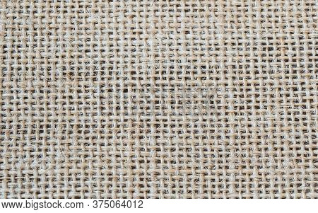Mesh Background Textile Material Daylight Top View Rustic Material