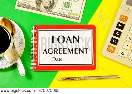 Credit Agreement-text Label On The Document Folder And The Planning Date. Provision Of Funds To The