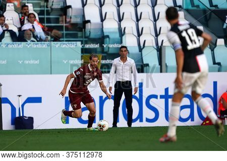 Torino, Italy. 04th July 2020. Italian Football League Serie A. Cristian Ansaldi  Of Torino Fc    Du