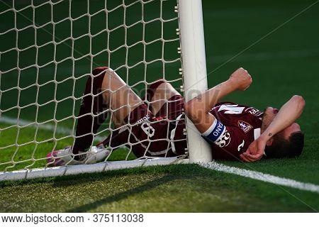 Torino, Italy. 04th July 2020. Italian Football League Serie A. Andrea Belotti Of Torino Fc    Durin
