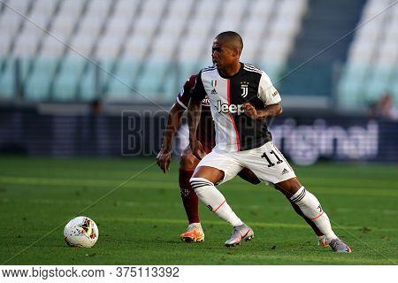 Torino, Italy. 04th July 2020. Italian Football League Serie A.  Douglas Costa  Of Juventus Fc  Duri