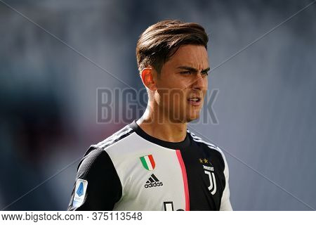 Torino, Italy. 04th July 2020. Italian Football League Serie A. Paulo Dybala Of Juventus Fc  During