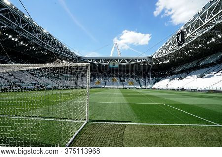 Torino, Italy. 04th July 2020. Italian Football League Serie A. Stadium Of Juventus Fc  During The S