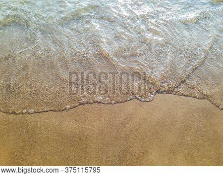 Foam Ocean Shore, Mansa Beach, Punta Del Este, Uruguay