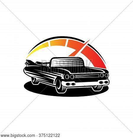 Car. Classic Car logo vector. Car icon vector. Car icon. Classic Car Vector. Car Logo. Car logo template. Car logo design. Car Symbol vector. Classic Car Logo icon. Classic Car emblem logo. Classic Car vector logo design template illustration.