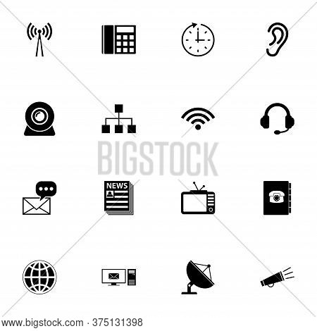Communication Icon - Expand To Any Size - Change To Any Colour. Perfect Flat Vector Contains Such Ic