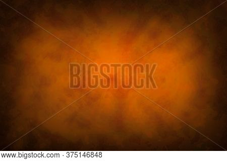 Ancient Reddish Illustration Paper Background Texture With Dark Border
