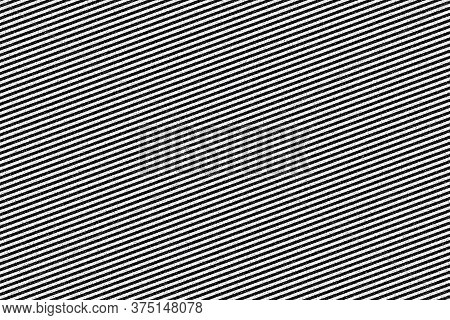 Illustration Texture With Coarse Dots On Black And White Lines