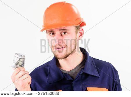 Man In Helmet Got Bribe, Money For Illegal Work.