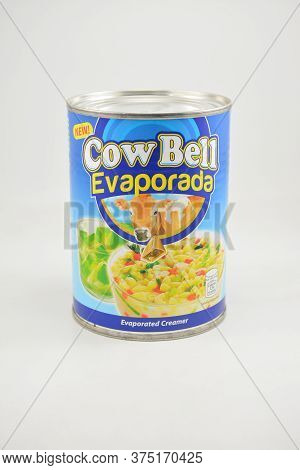 Manila, Ph - June 26 - Cow Bell Evaporated Milk Can On June 26, 2020 In Manila, Philippines.
