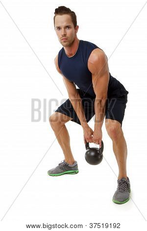 Kettle bell exercise