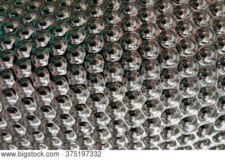 Abstract Silver Texture As Easy Technology Background