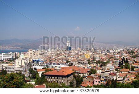 Panoramic View Of Izmir