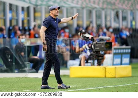 Milano, Italy. 05th July 2020. Italian Football Serie A. Sinisa Mihajlovic Head Coach Of Bologna Cal