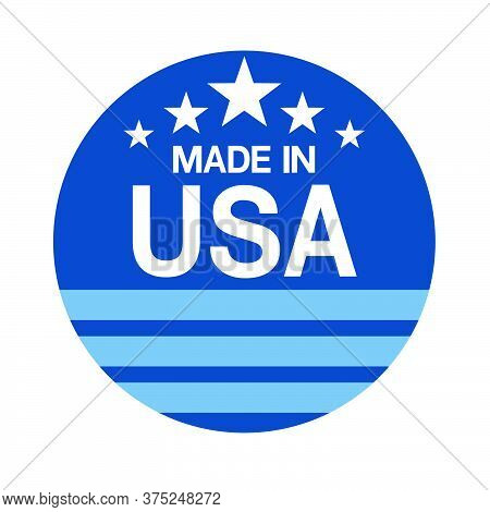 05-made In Usa Sign Vector