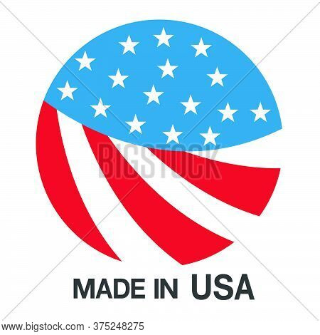 06-made In Usa Sign Vector