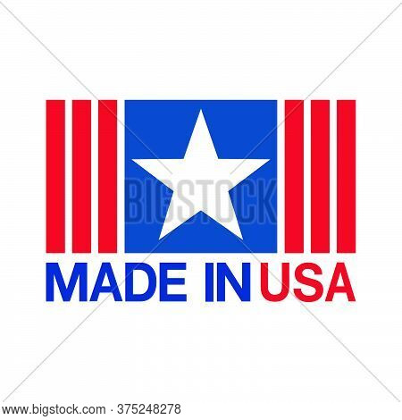 07-made In Usa Sign Vector