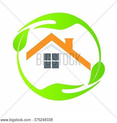 03-real Estate, Eco House Design Vector Template