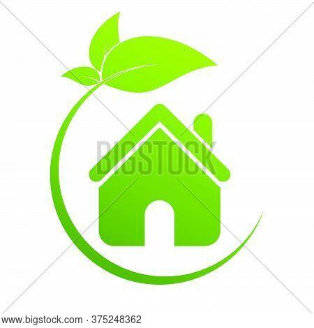 07-real Estate, Eco House Design Vector Template