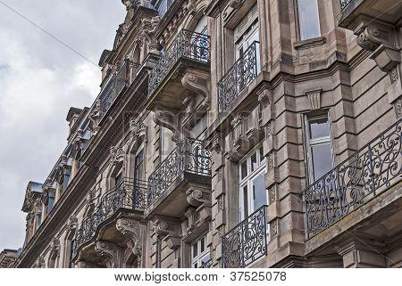 Historic European building