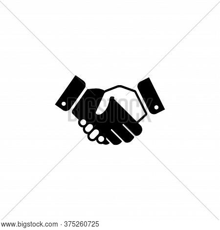 Handshake Icon Isolated On White Background. Handshake Icon In Trendy Design Style For Web Site And