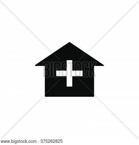 Illustration Vector Graphic Of Hospital Building Icon