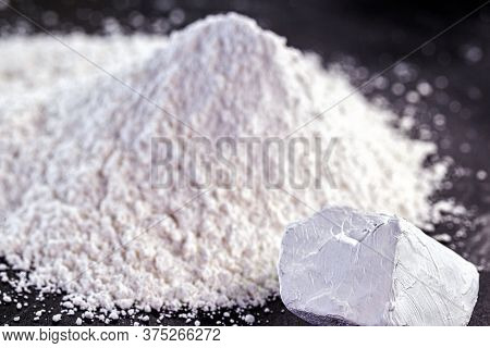 Kaolin Or Kaolin Is An Ore Composed Of Hydrated Aluminum Silicates, Such As Kaolinite And Haloisite.