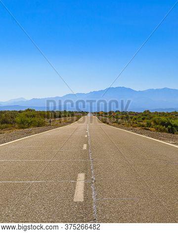 Deserted Landscape Highway, San Juan Province, Argentina