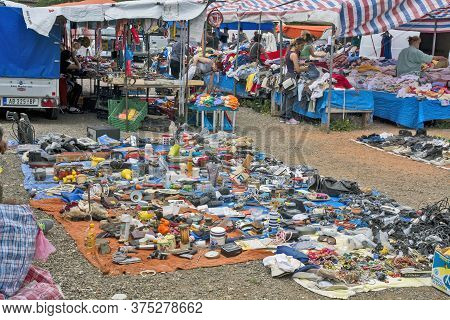 Selling Everything And Everything At The Flea Market