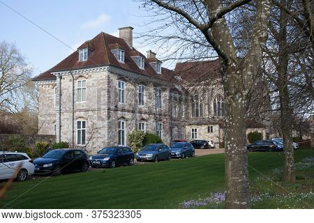 The Pilgrim's Preparatory Boy's School In Winchester, Hampshire In The Uk Taken 8th February 2020