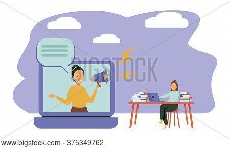 Educational Web Seminar, Internet Classes, Professional Personal Teacher Service Icon. Webinar, Digi